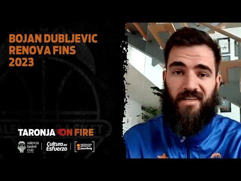 Bojan Dubljevic Renova amb VBC fins 2023
