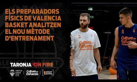 Los preparadores físicos de Valencia Basket analizan el nuevo método de entrenamiento