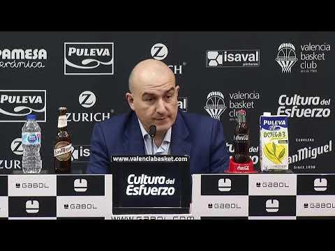 RP Rubén Burgos post J22 Liga Endesa vs San Pablo Burgos