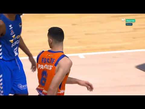Bandeja Alberto Abalde J22 Liga Endesa vs San Pablo Burgos