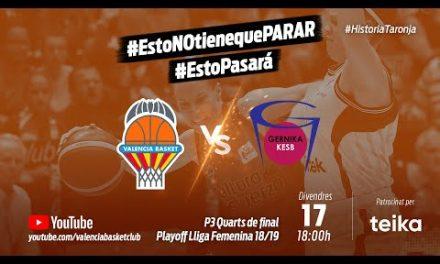 Partido 3 PlayOff 18-19 Cuartos Liga Femenina vs Lointek Gernika #HistoriaTaronja