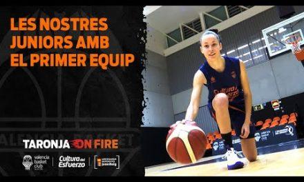 Reportaje À Punt juniors Valencia Basket femenino