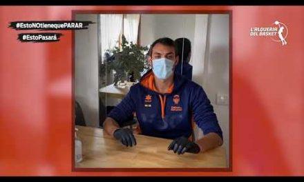 Uso correcto de la mascarilla y los guantes – Adrián Valverde