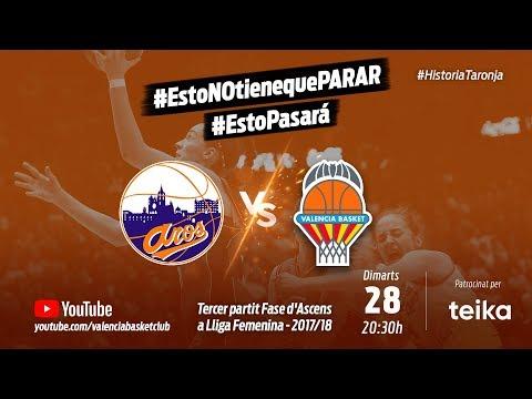 3º partido fase de ascenso a Liga Femenina: Patatas Hijolusa vs VBC