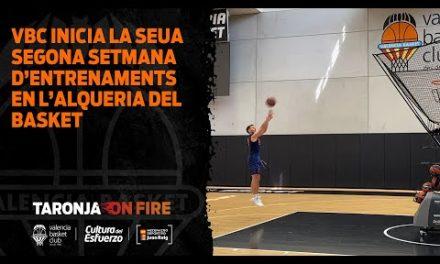 Inicio segunda semana de entrenamientos de L'Alqueria del Basket
