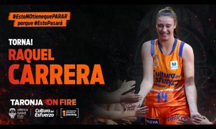 Raquel Carrera jugará en el primer equipo en la 2020-21