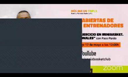 Jornada abierta de formación online con Bankia: Paco Pardo (Inicio 12h)