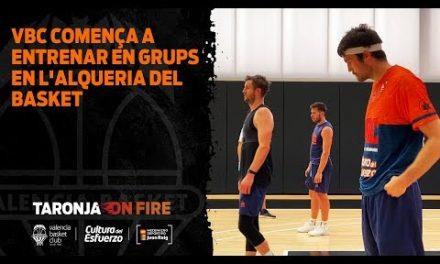 Valencia Basket comienza a entrenar en grupos