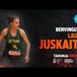 Laura Juskaite, segundo refuerzo de Valencia Basket