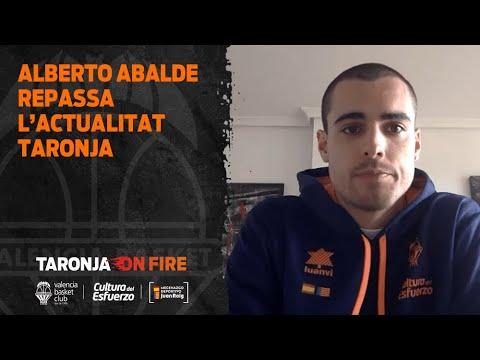 Alberto Abalde repasa la actualidad Taronja