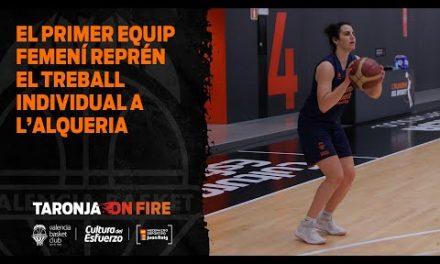 El primer equipo femenino retoma el trabajo individual en L'Alqueria
