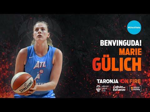 Marie Gülich, calidad WNBA para Valencia Basket