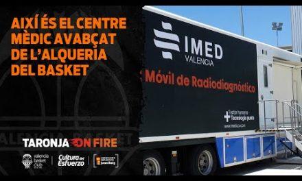 Así es el centro médico avanzado de la Fase Final de la Liga Endesa