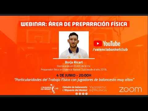 Webinar 4 Cátedra de Baloncesto L'Alqueria del Basket (Inicio 20h)