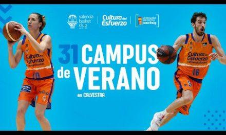 ¡No puedes perderte el Campus de Verano del Valencia Basket!