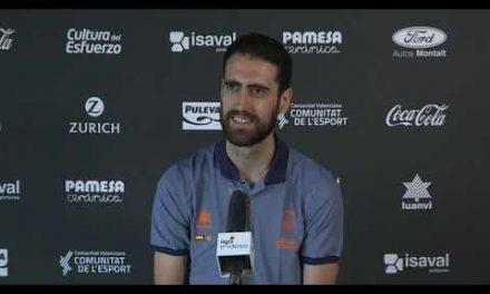 Rueda de prensa Joan Sastre pre J4 Fase Final Liga Endesa vs San Pablo Burgos
