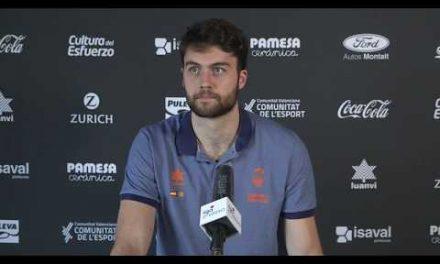 Rueda de prensa Mike Tobey pre J5 Fase Final Liga Endesa