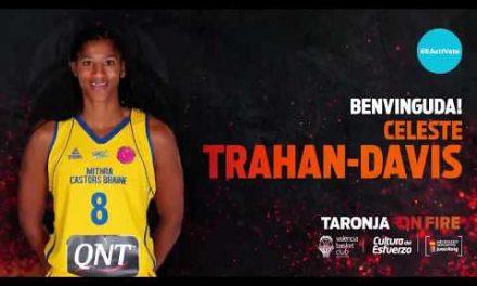 Celeste Trahan-Davis, más experiencia Euroliga para el juego interior