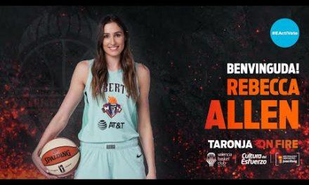Rebecca Allen, versatilidad WNBA para cerrar el proyecto taronja