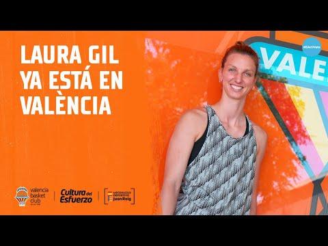 Laura Gil ya está en Valencia