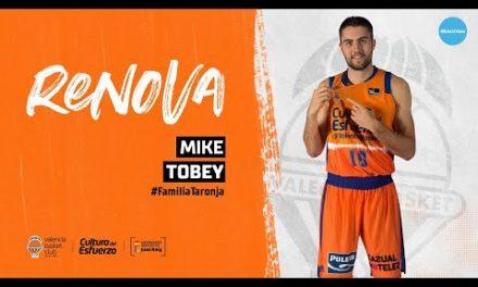 Renovación Mike Tobey hasta 2020