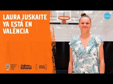Laura Juskaite ya está en València