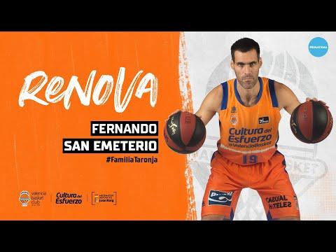 Renovación Fernando San Emeterio