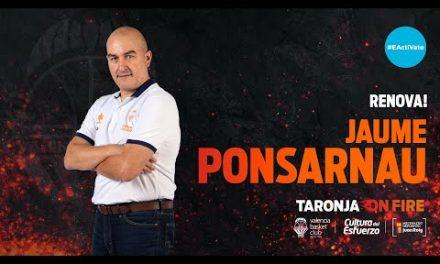 Renovación Jaume Ponsarnau