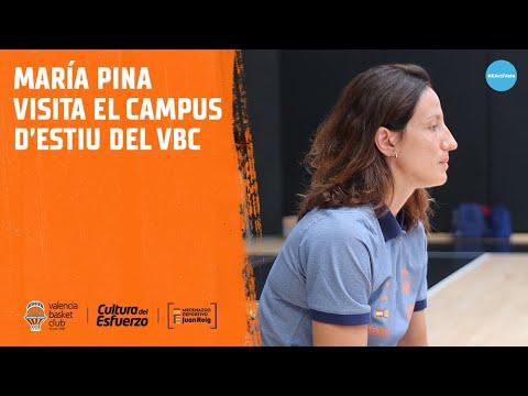 María Pina visita el Campus de Verano