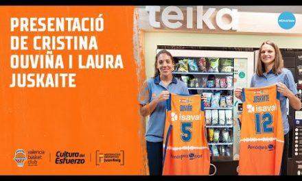Presentación de Cristina Ouviña y Laura Juskaite en Teika