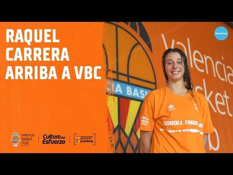 Raquel Carrera ya entrena con el Valencia Basket