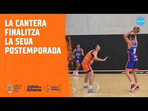 La Cantera finaliza su postemporada en L'Alqueria del Basket