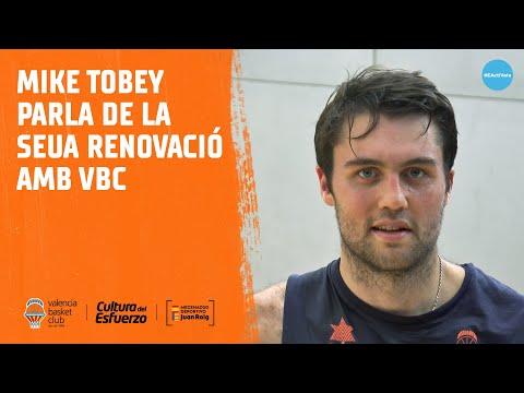 Mike Tobey parla de la seua renovació amb VBC