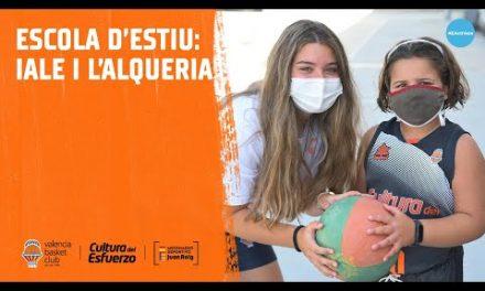 Así es la Escuela de Verano de IALE y L'Alqueria del Basket