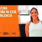 Cristina Ouviña ya está en València