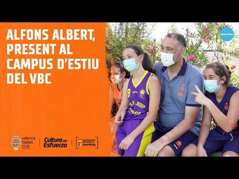 Alfons Albert, presente en el Campus de Verano del VBC