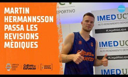 Martin Hermannsson supera la revisión médica