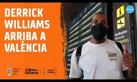 Llegada de Derrick Williams