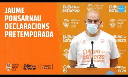 Declas Jaume Ponsarnau – Primer entrenamiento abierto