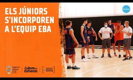 Los juniors se incorporan al equipo EBA