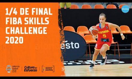 1/4 de final FIBA Skills Challenge 2020