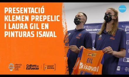 Presentación Klemen Prepelic y Laura Gil en Pinturas Isaval