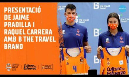 Presentación de Jaime Pradilla y Raquel Carrera con B the travel brand