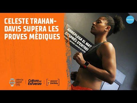 Celeste Trahan-Davis supera las pruebas médicas
