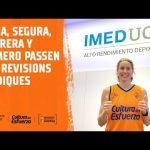 Anna, Romero, Carrera y Segura pasan la revisión médica en IMED-UCV