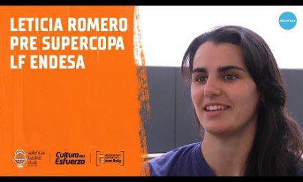 Leticia Romero previa Supercopa #LFEndesa