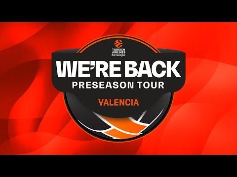 Press Conferences. Valencia Basket – FC Bayern Munich. Semifinals We'Re Back Preseason Tour
