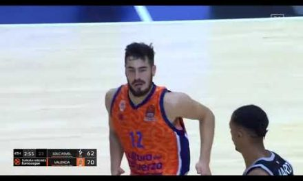 Rebote y canasta de Nikola Kalinic, final We'Re Back Preseason Tour vs LDLC Asvel