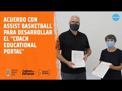 Acuerdo con Assist Basketball para desarrollar el 'Coach Educational Portal'
