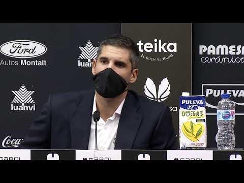 RP Rubén Burgos post J1 LF Endesa vs Lointek Gernika